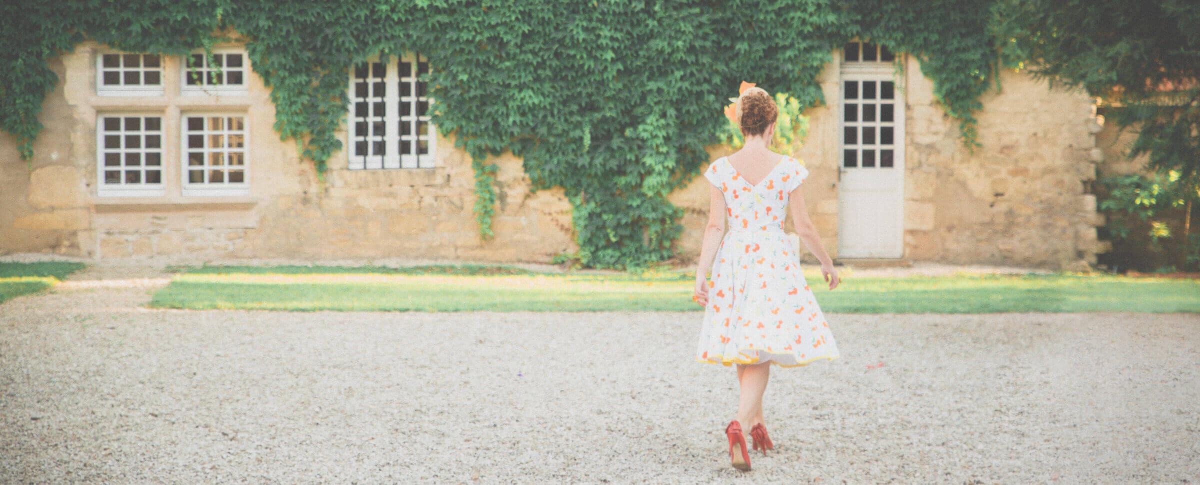 cocktail champêtre pris par un photographe de mariage en provence