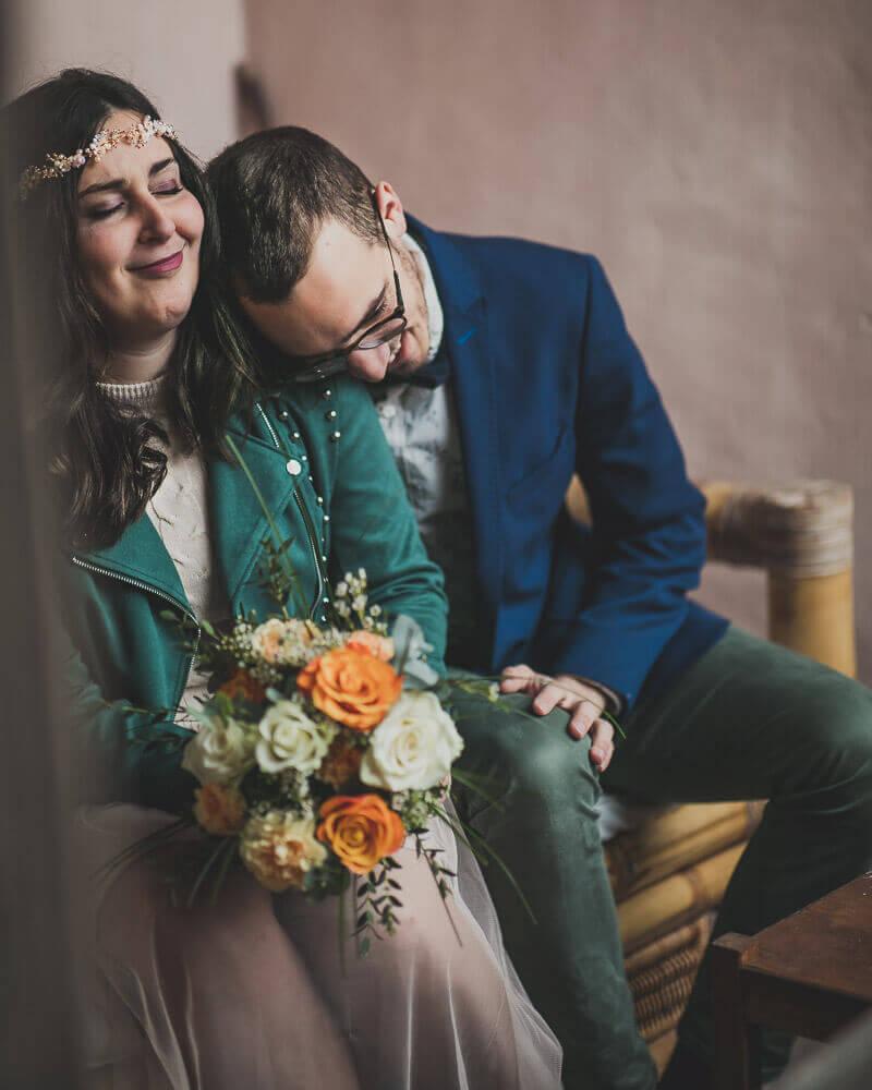Émotions du couple lors de l'engaging session france provence